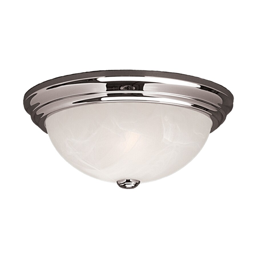 Millennium Lighting 11-in W Chrome Ceiling Flush Mount Light