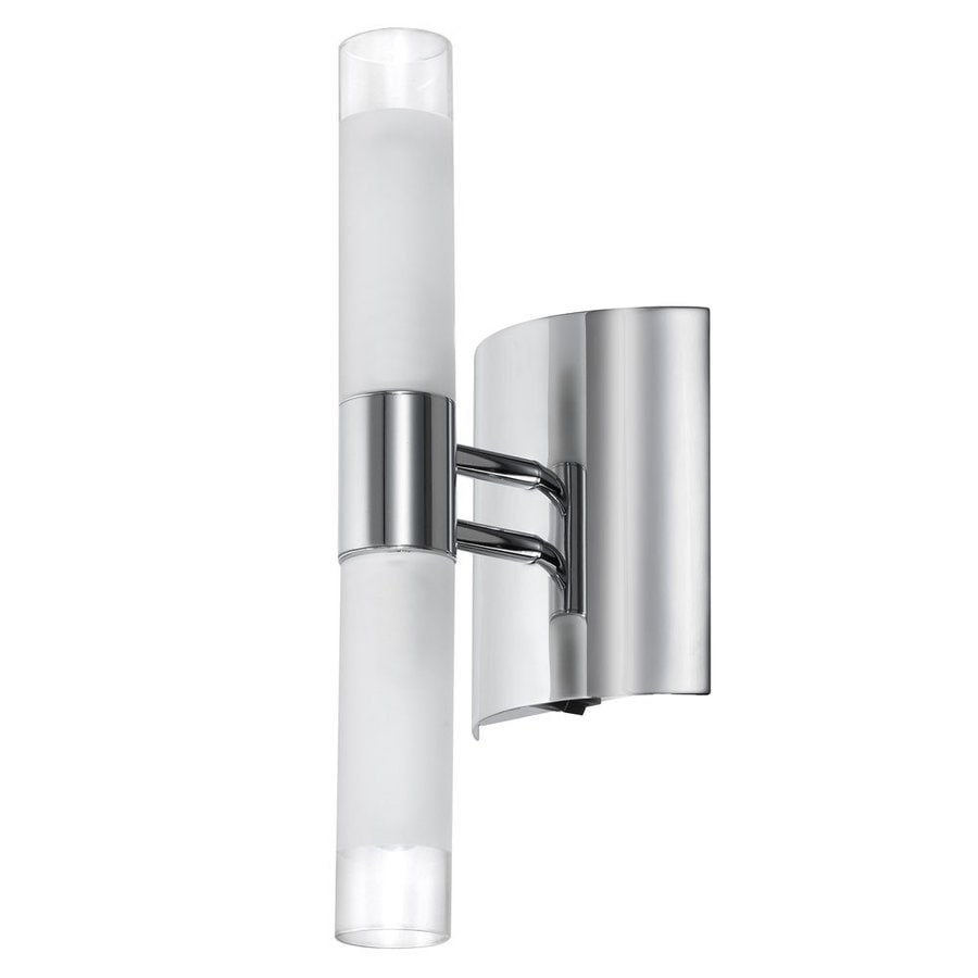 Dainolite Lighting 4.25-in W 1-Light Polished Chrome Wall Sconce