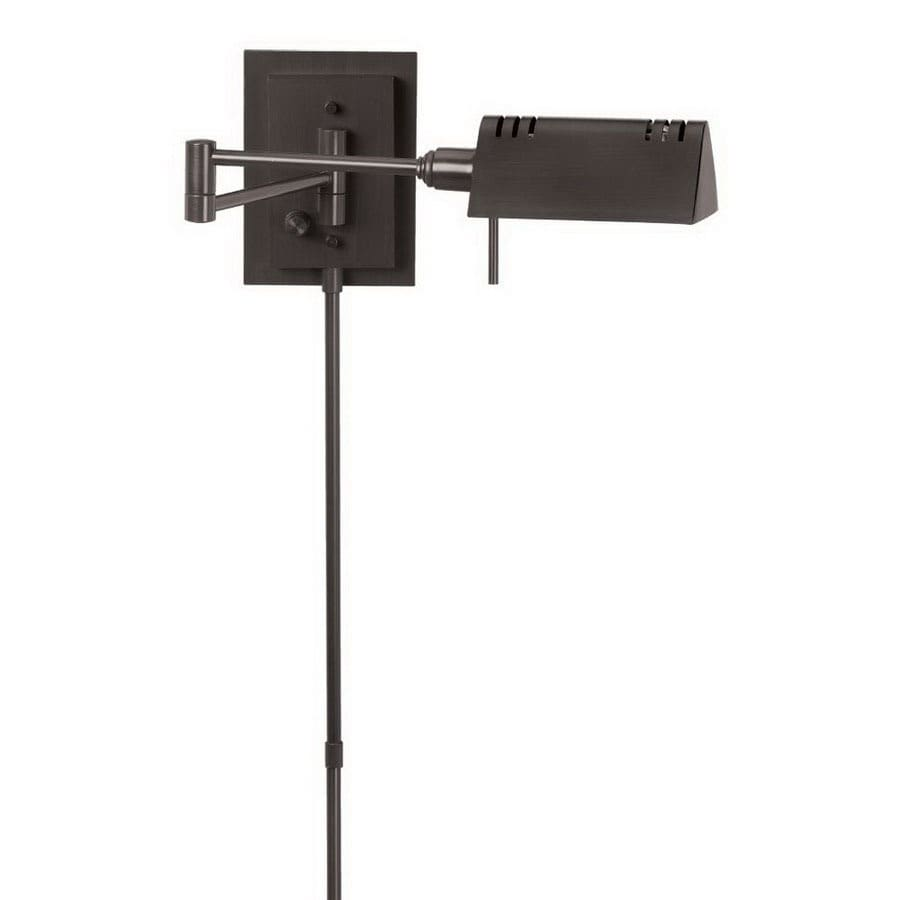 Dainolite Lighting 18-in W 1-Light Oil Rubbed Bronze Arm Hardwired Wall Sconce