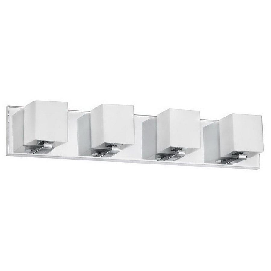 Dainolite Lighting 4-Light Polished Chrome Bathroom Vanity Light