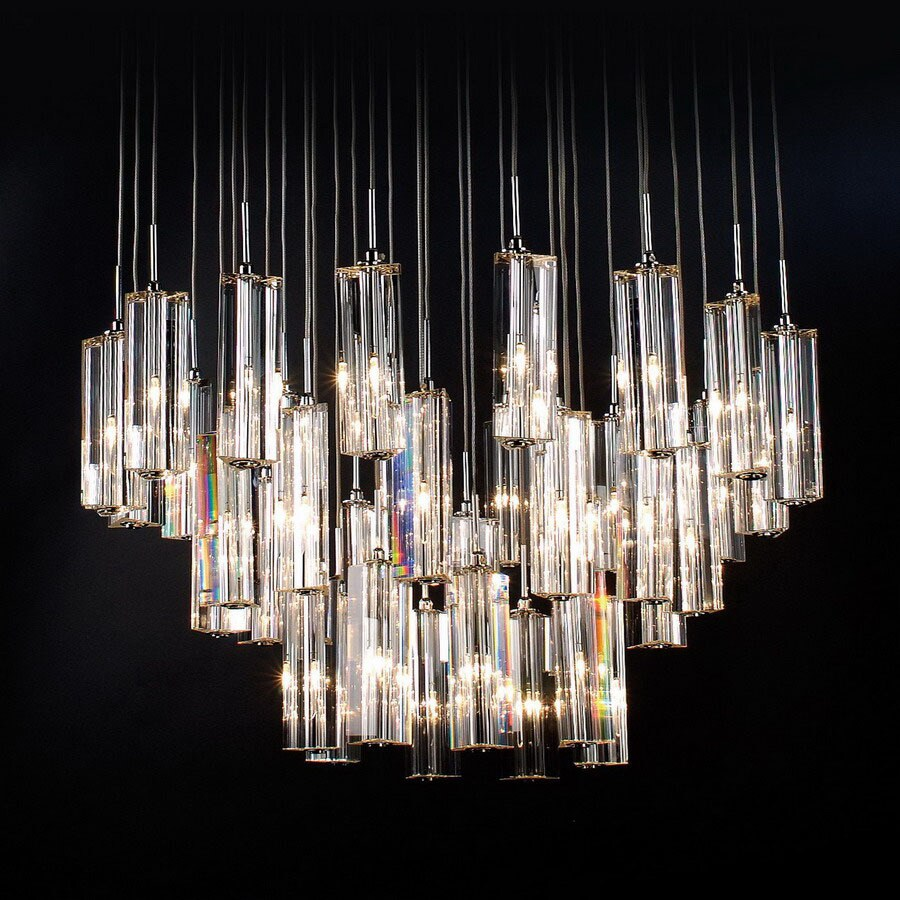Trend Lighting 36 Light Diamante Polished Chrome Chandelier