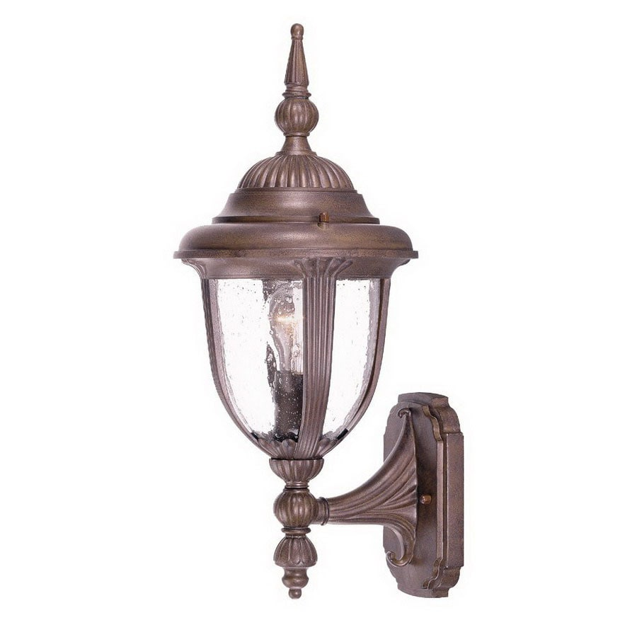 Acclaim Lighting Monterey 16-in Burled Walnut Outdoor Wall Light