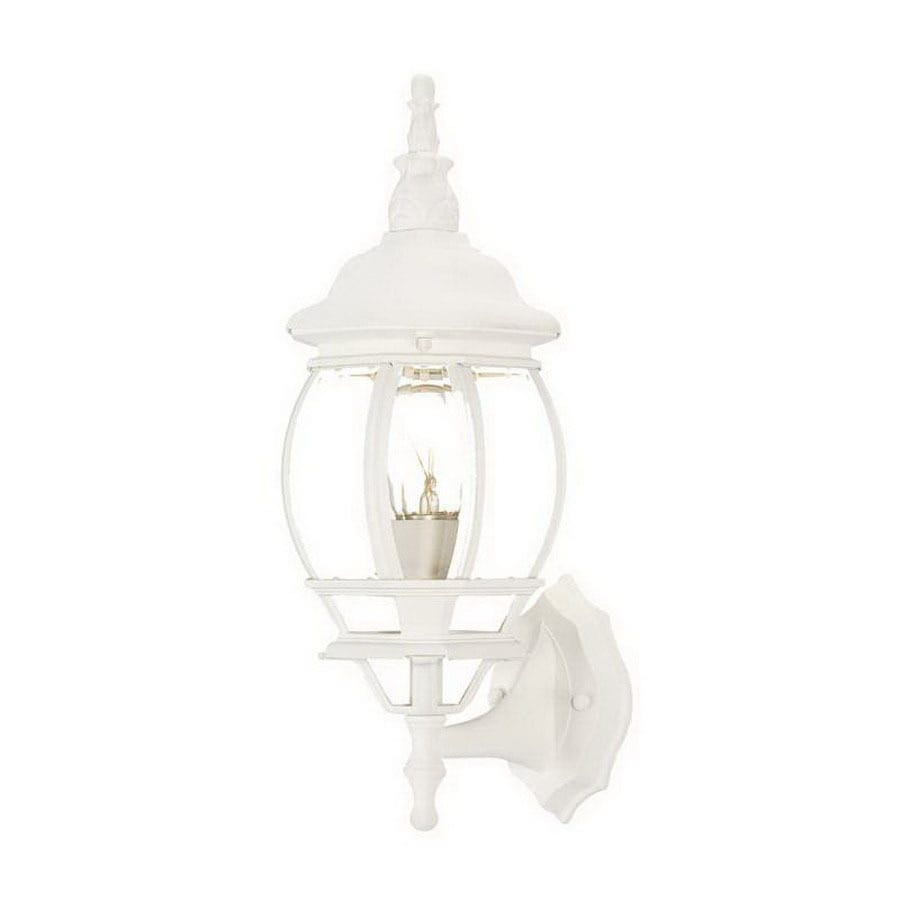 Acclaim Lighting Chateau 17-1/2-in Textured White Outdoor Wall Light