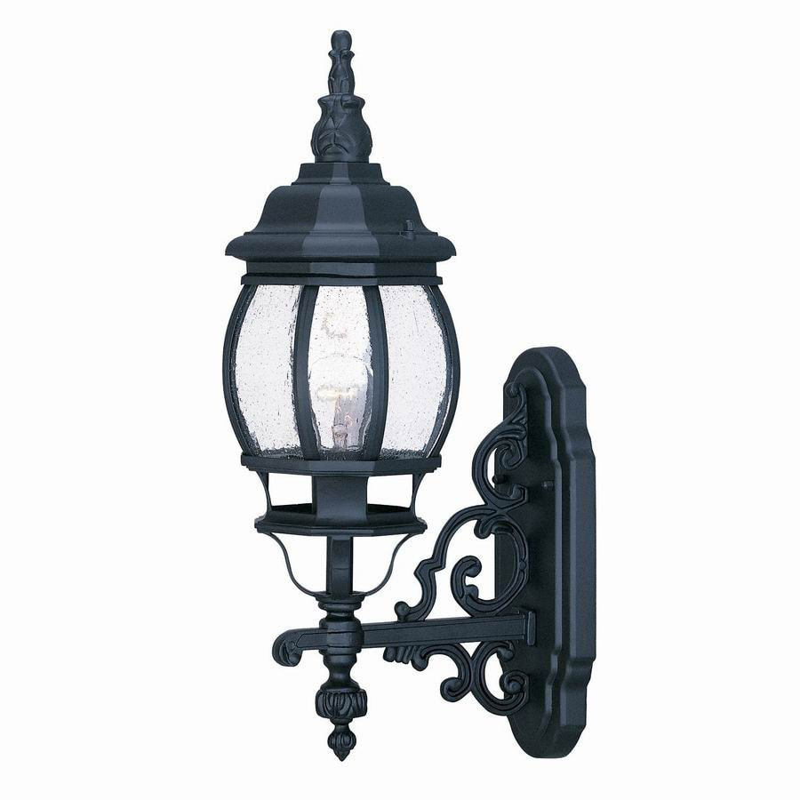 Acclaim Lighting Chateau 21-in Matte Black Outdoor Wall Light
