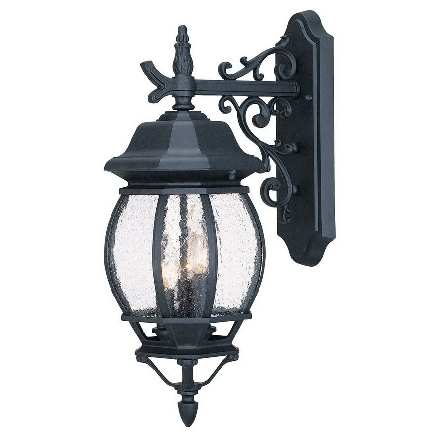 Acclaim Lighting Chateau 18-3/4-in Matte Black Outdoor Wall Light