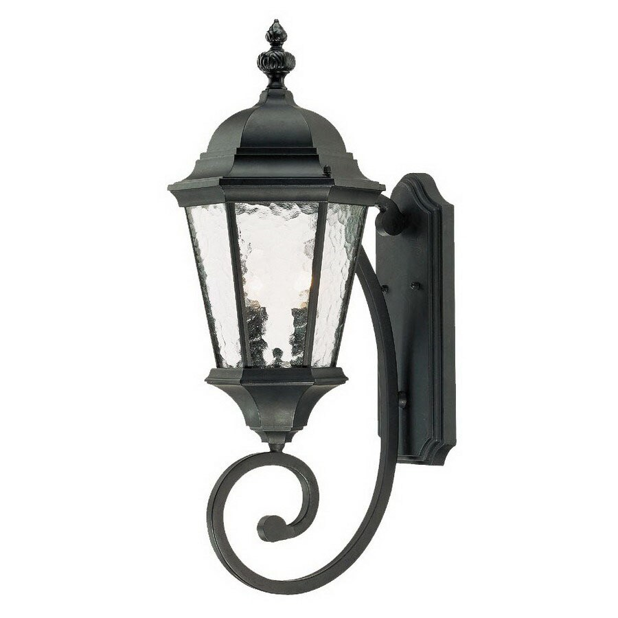 Acclaim Lighting Telfair 24-1/2-in Matte Black Outdoor Wall Light