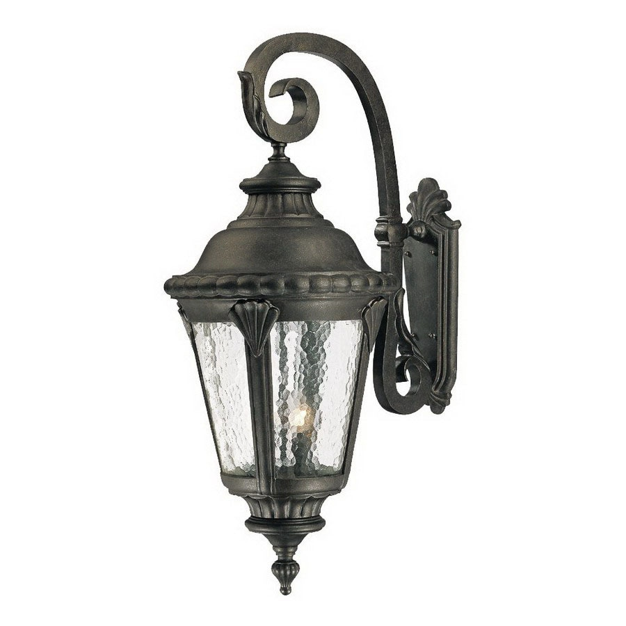 Acclaim Lighting Surrey 38 In Black Gold Outdoor Wall Light