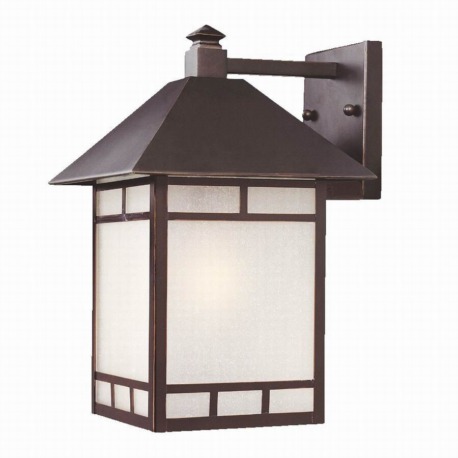 Acclaim Lighting Artisan 10-1/2-in Architectural Bronze Outdoor Wall Light