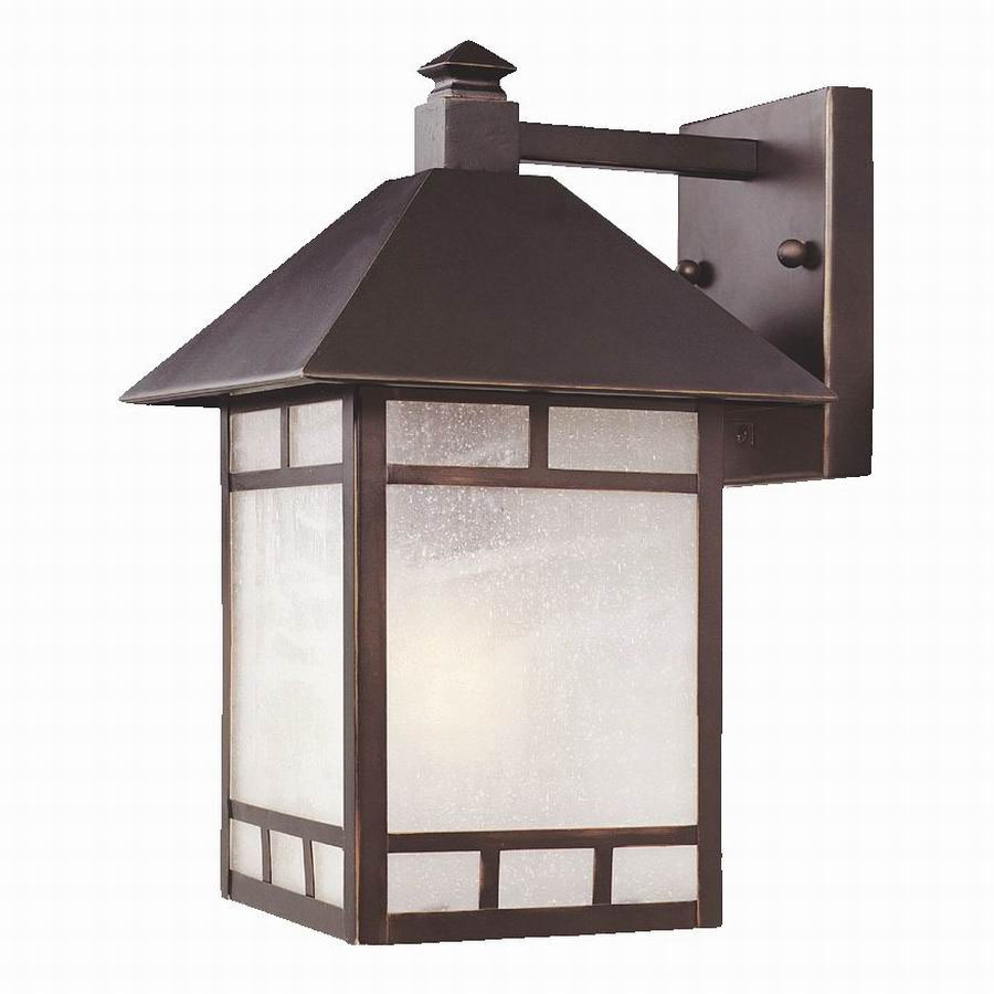 Acclaim Lighting Artisan 14-1/2-in Architectural Bronze Outdoor Wall Light