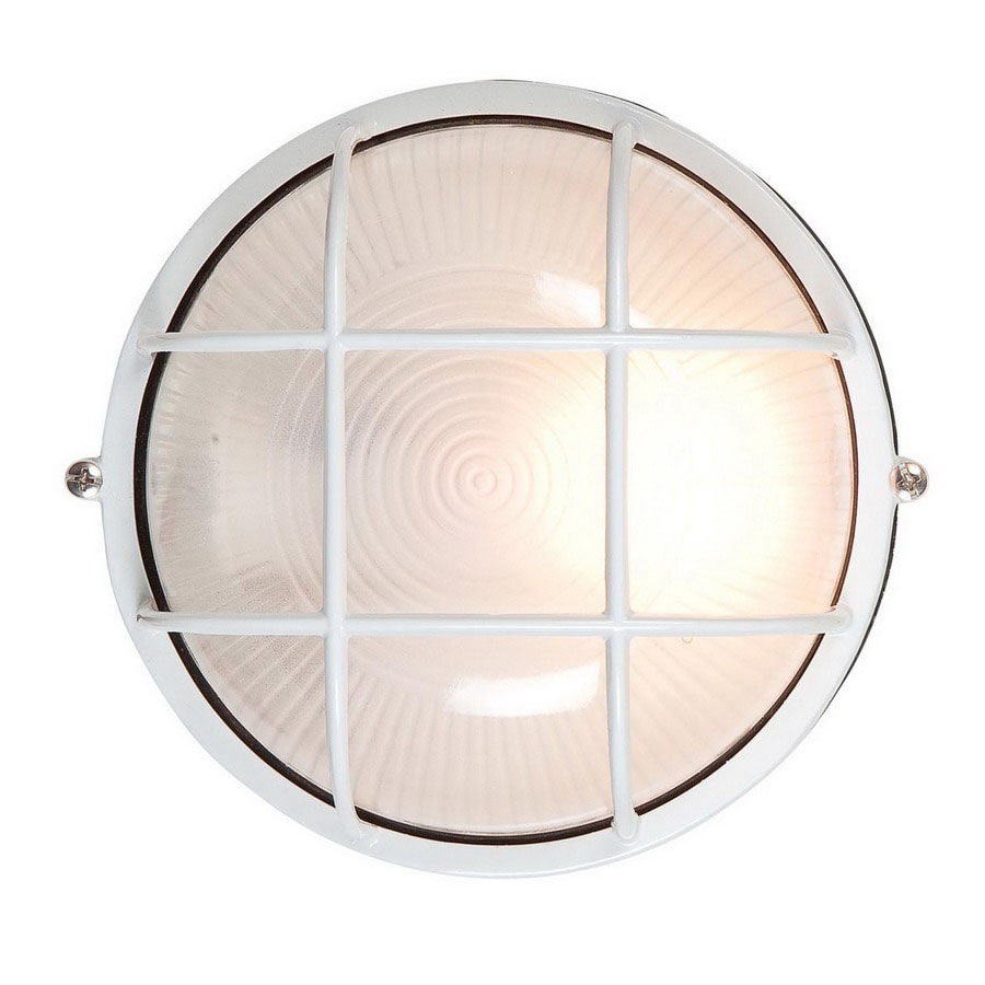 Access Lighting Nauticus 10-in White Outdoor Wall Light