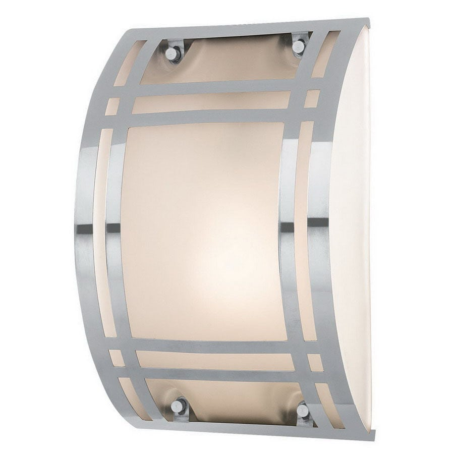 Access Lighting Bulkhead 10-3/4-in Stainless Steel Outdoor Wall Light