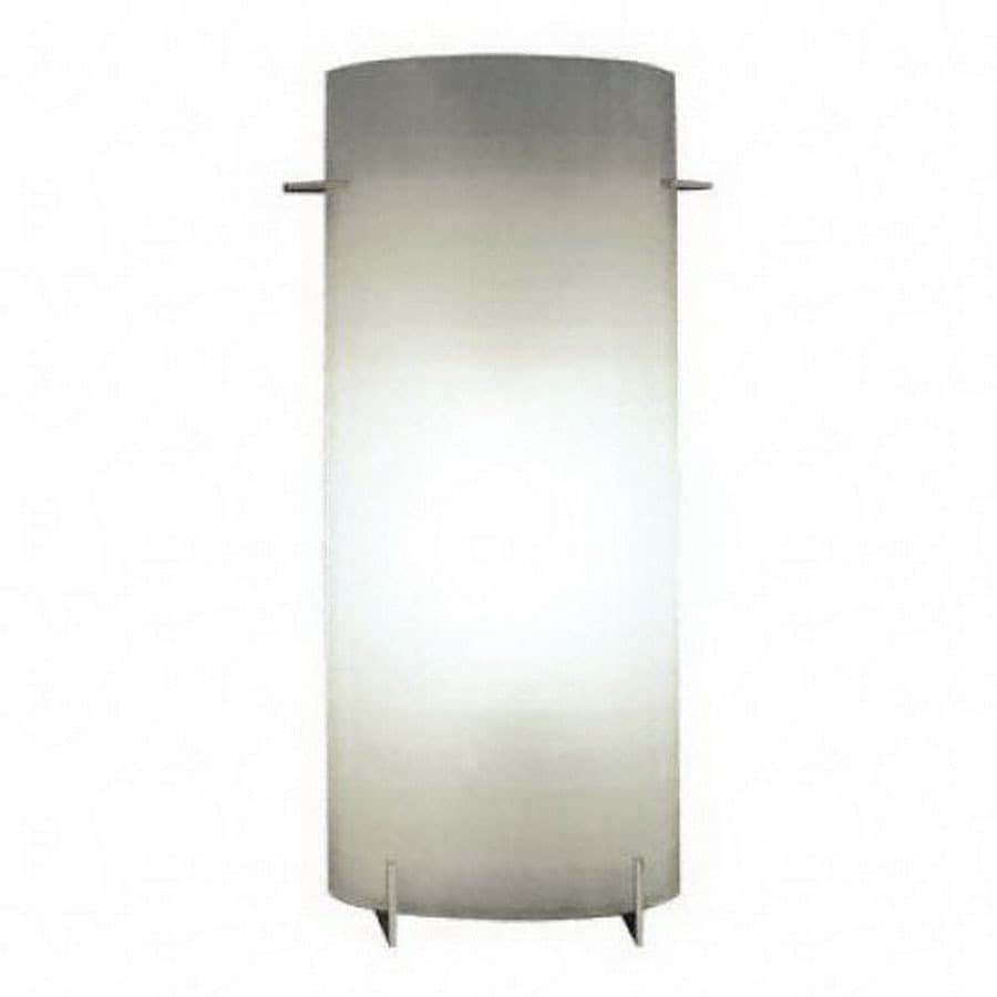 PLC Lighting Contempo 7.25-in W 1-Light Polished Chrome Pocket Hardwired Wall Sconce