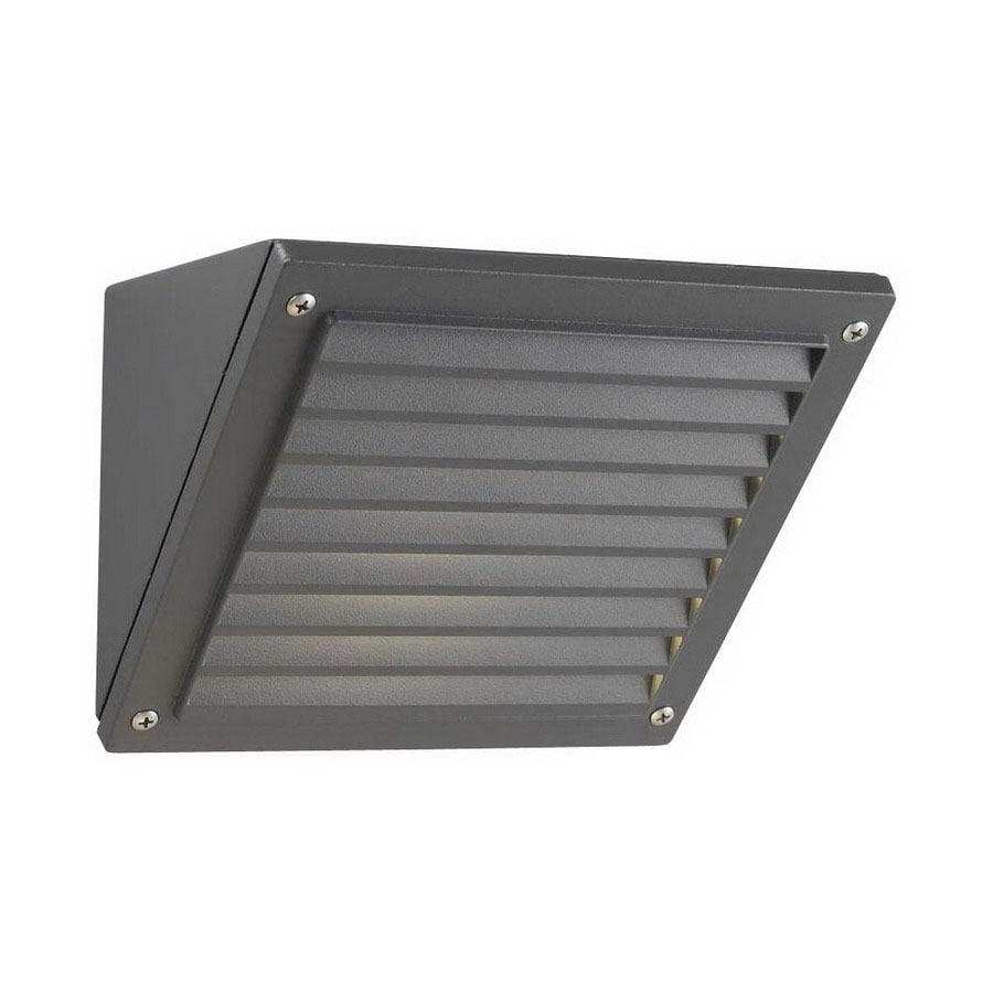 PLC Lighting 6-in Architectural Bronze Dark Sky Outdoor Wall Light