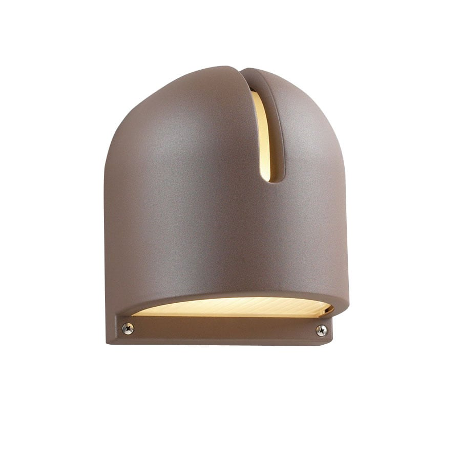 PLC Lighting Phoenix 9-in Architectural Bronze Outdoor Wall Light