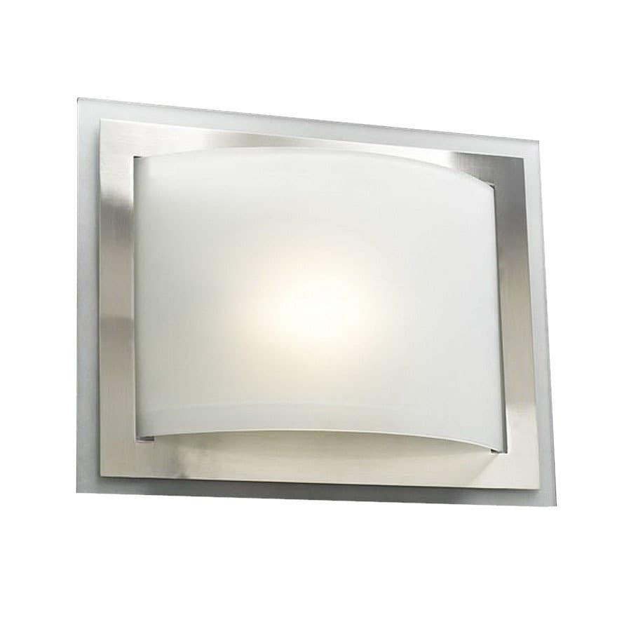 Shop plc lighting 14 in w sisal 1 light satin nickel pocket wall plc lighting 14 in w sisal 1 light satin nickel pocket wall sconce aloadofball Choice Image