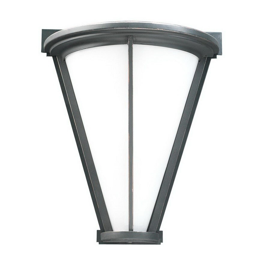 PLC Lighting Suenos 12-in Oil-Rubbed Bronze Outdoor Wall Light