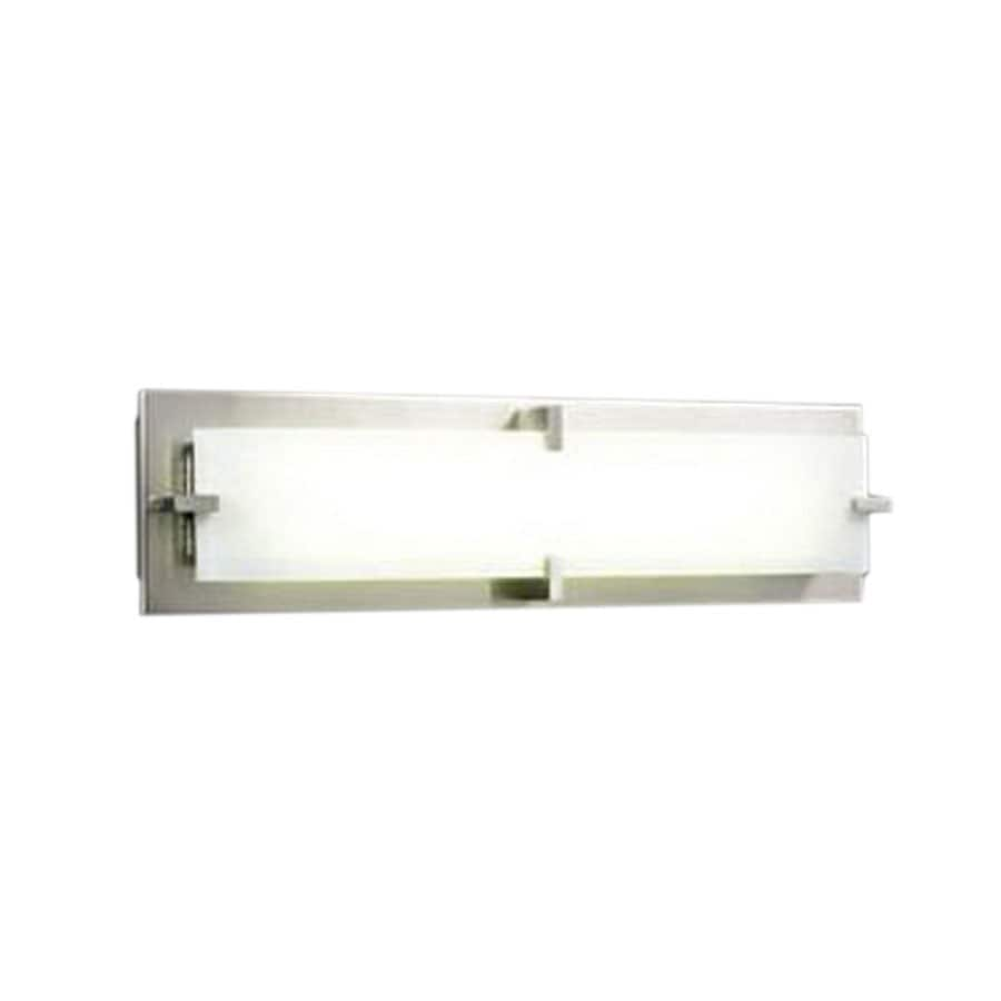 PLC Lighting Polipo 27-in W 1-Light Satin Nickel Pocket Wall Sconce