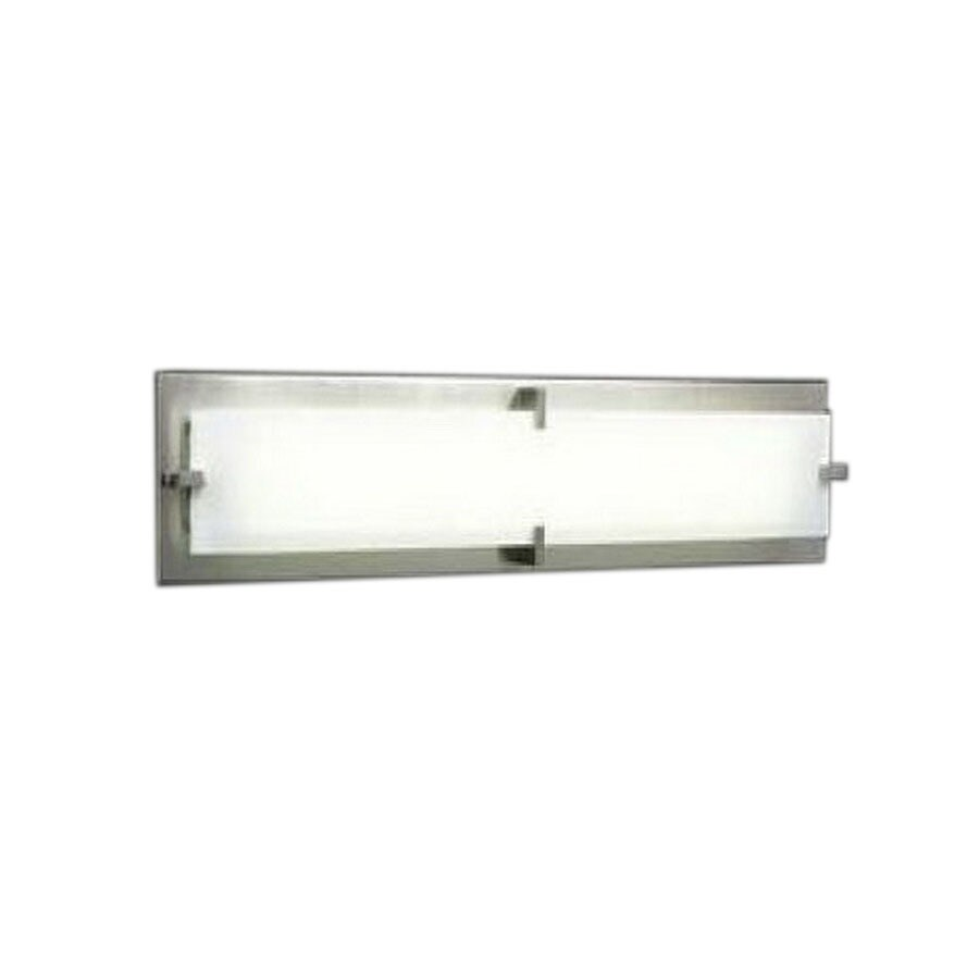PLC Lighting Polipo 39-in W 1-Light Satin Nickel Pocket Wall Sconce