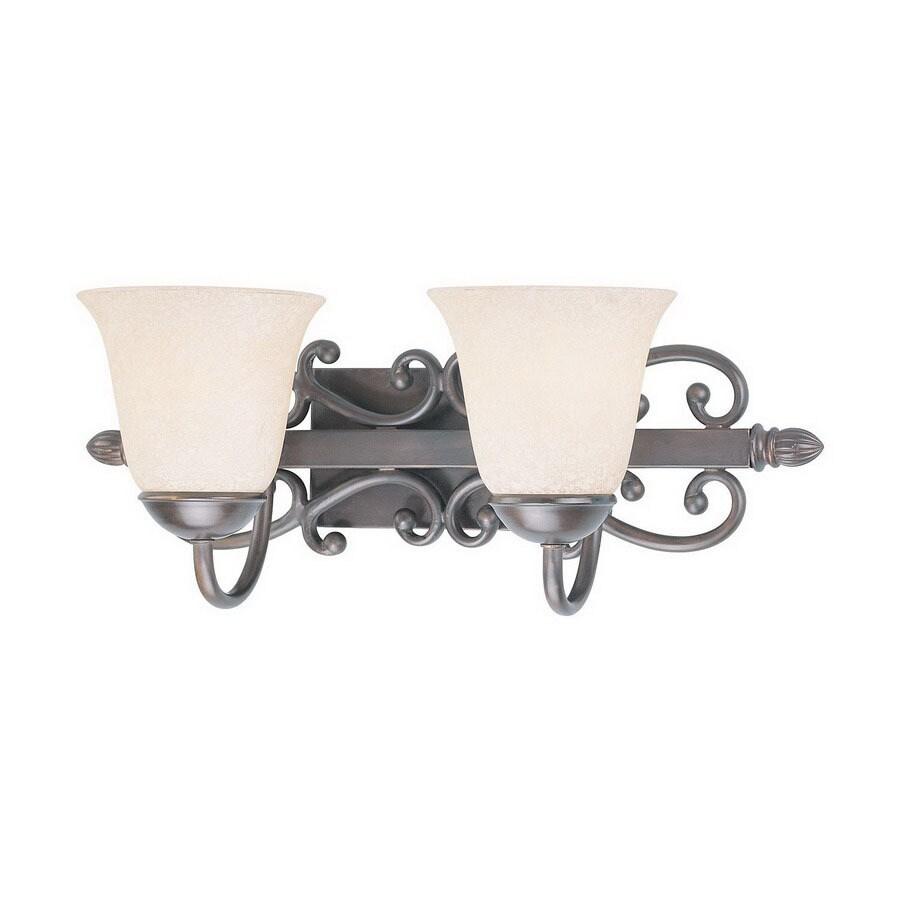 Classic Lighting 2-Light Cape Cod Oil-Rubbed Bronze Bathroom Vanity Light