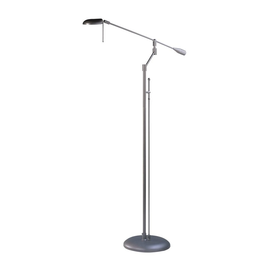 Kendal Lighting 45-in Oil-Rubbed Bronze Swing-Arm Floor Lamp with Metal Shade