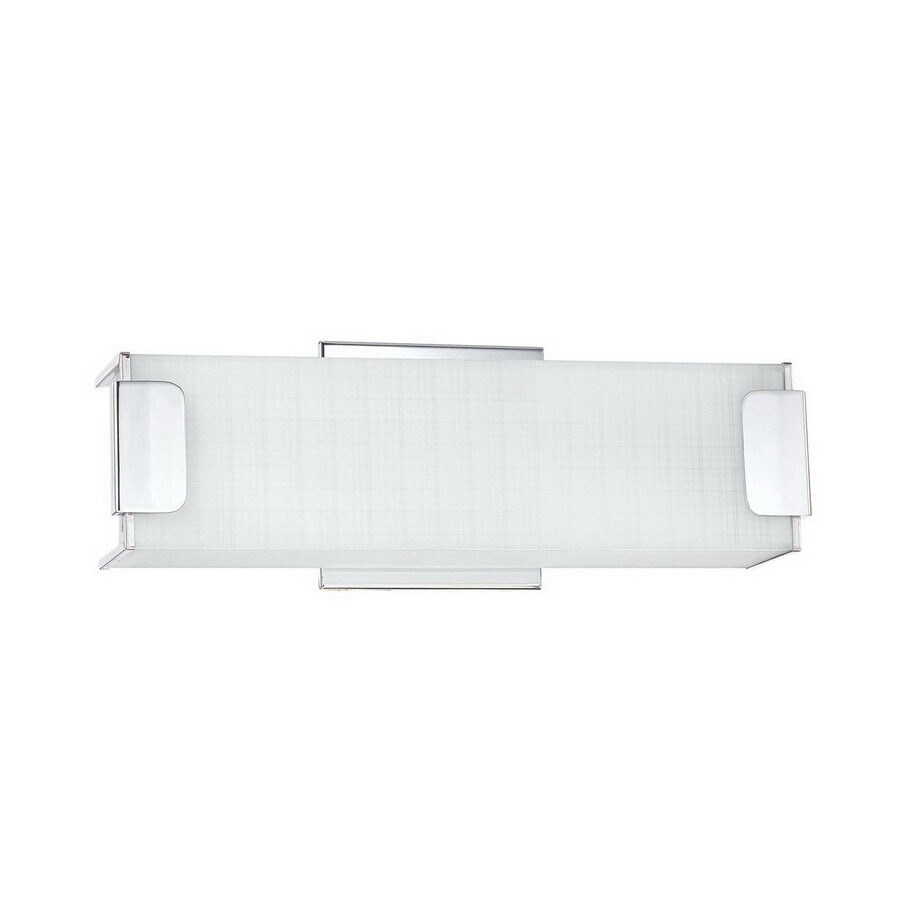Shop Kendal Lighting Alba Chrome Bathroom Vanity Light At