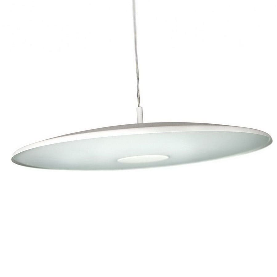 Philips 19-1/8-in W Ecomoods White Pendant Light