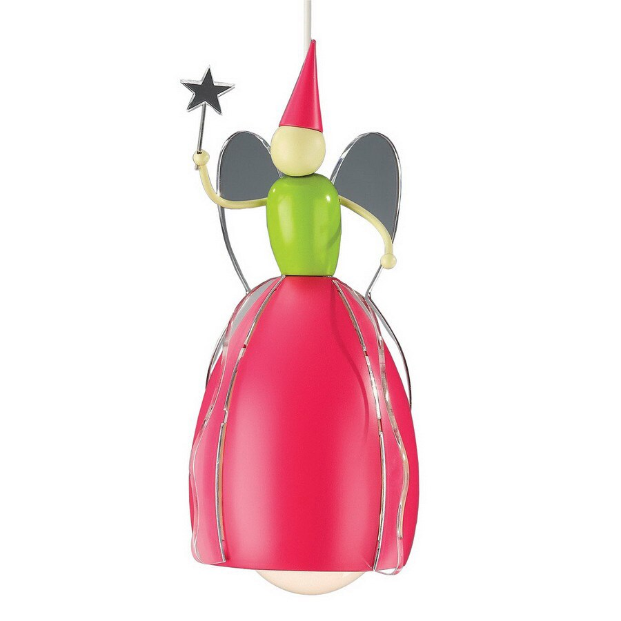 Philips 7-3/8-in W Kidsplace Multicolor Kids Mini Pendant Light with Metal Shade