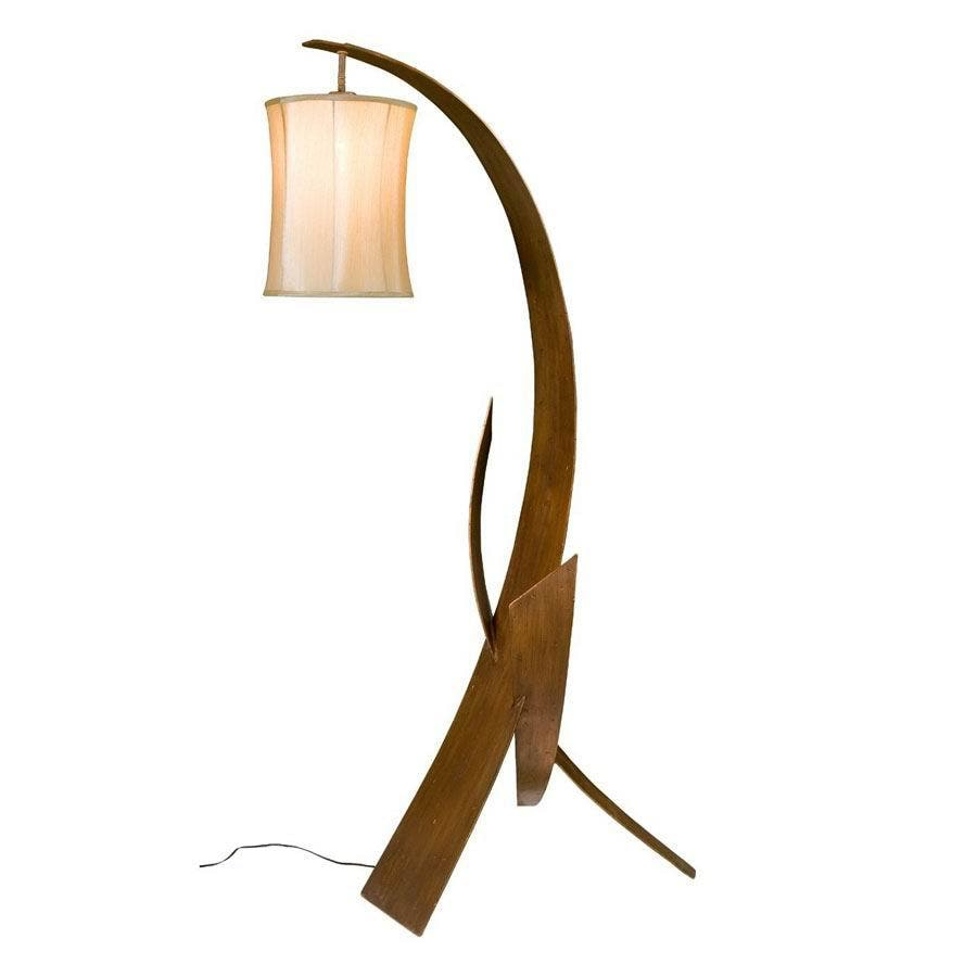 Varaluz 59-1/2-in Hammered Ore Floor Lamp with Shade
