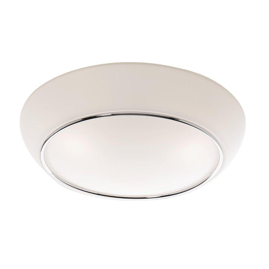 Artcraft Lighting 11.5-in W Chrome Flush Mount Light