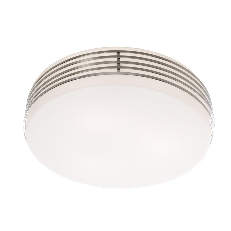 Artcraft Lighting 10-in W Chrome Ceiling Flush Mount Light