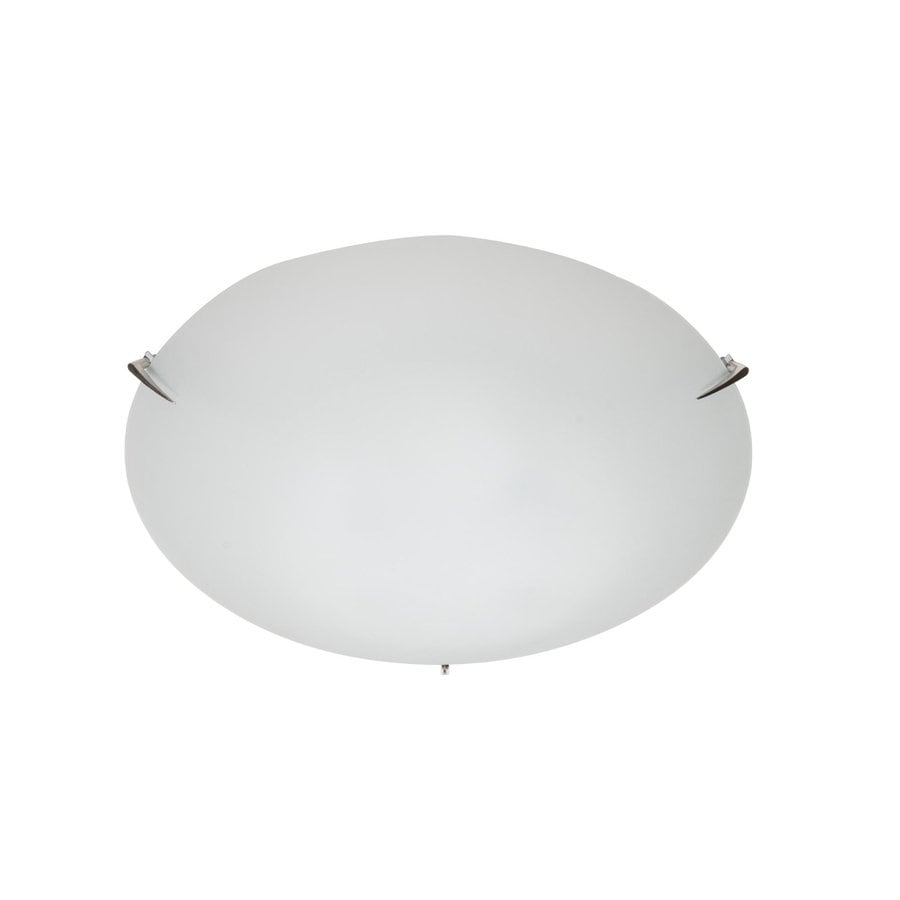 Artcraft Lighting 19.5-in W Brushed nickel Flush Mount Light