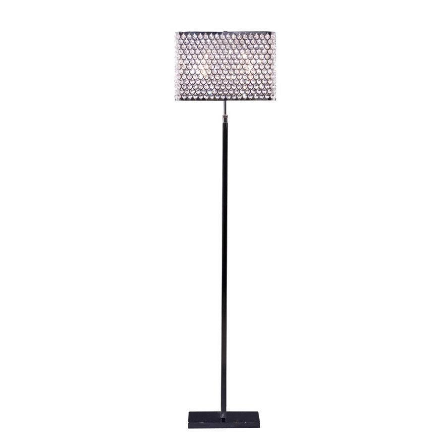 Artcraft Lighting 53-in Chrome Floor Lamp with Shade