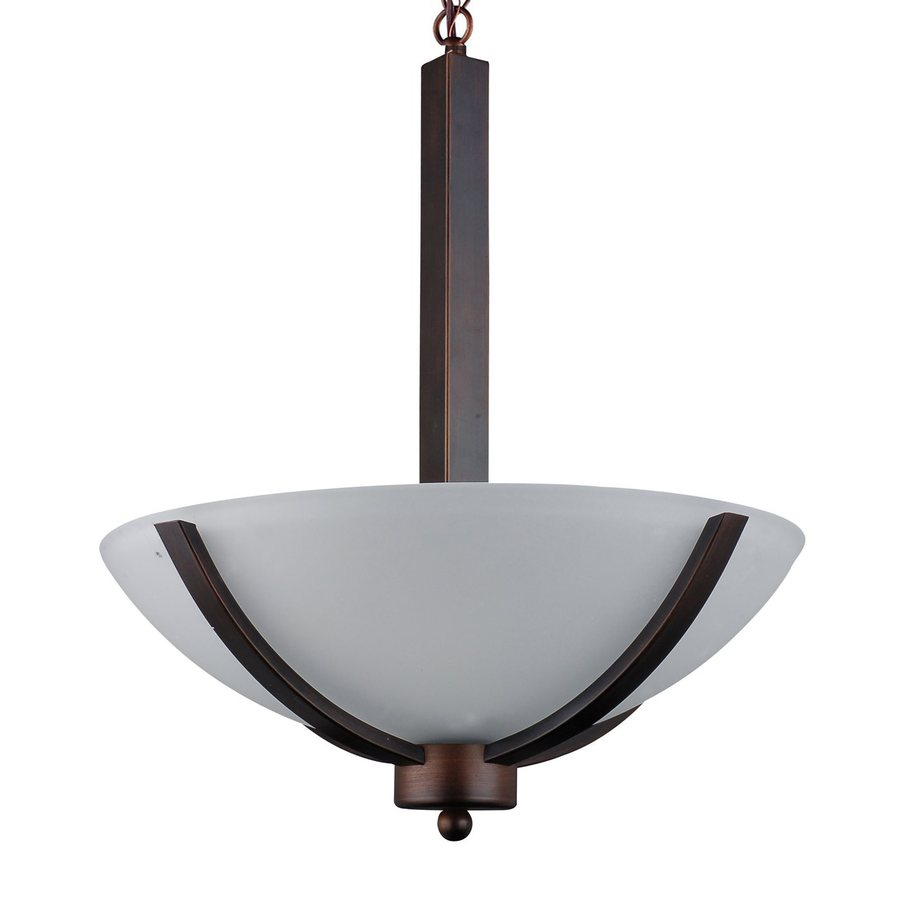 Whitfield Lighting Mickayla 16-in Coffee Bowl Pendant