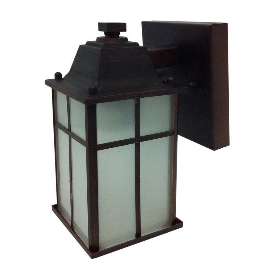 Whitfield Lighting 8-3/4-in Black Outdoor Wall Light ENERGY STAR