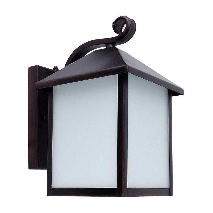 Whitfield Lighting 12-in Oil-Rubbed Bronze Outdoor Wall Light ENERGY STAR