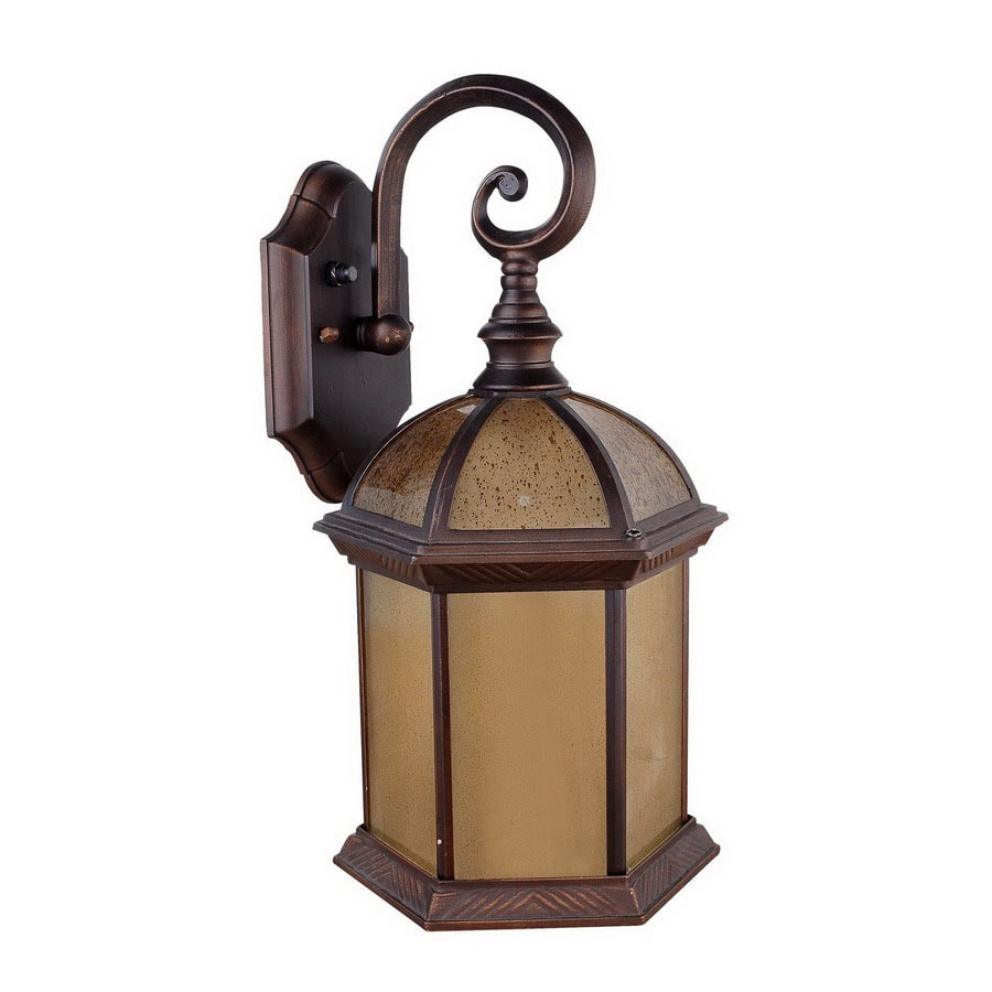 Whitfield Lighting 16-in Oil-Rubbed Bronze Outdoor Wall Light ENERGY STAR
