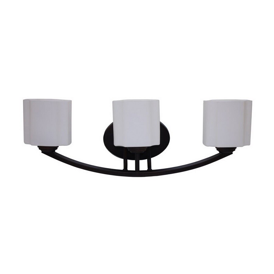 Whitfield Lighting 3-Light Oil-Rubbed Bronze Bathroom Vanity Light