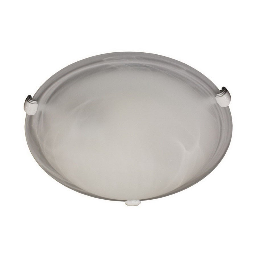 Whitfield Lighting 16-in W White Ceiling Flush Mount