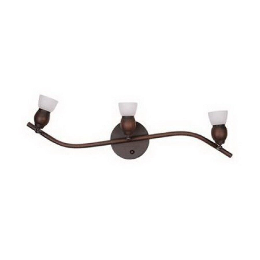 Whitfield Lighting Bentley 23-in W 3-Light Oil rubbed bronze Arm Wall Sconce