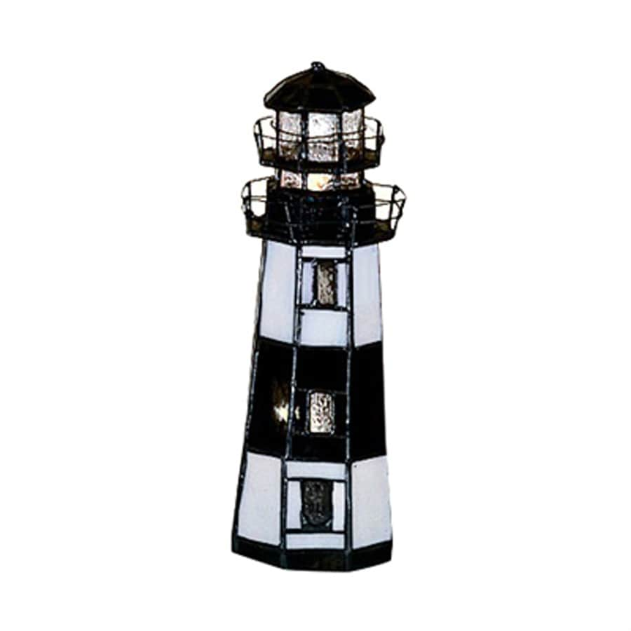 Meyda Tiffany Lighthouse 9.5-in Montuak Point Lighthouse Light