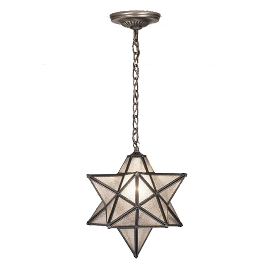 Shop Meyda Tiffany Moravian Star 12 in Mahogany Bronze Single