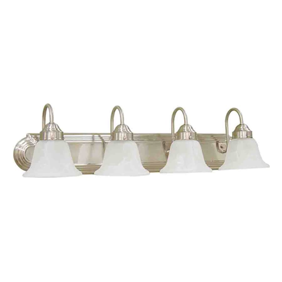 Volume International Minister 4-Light Brushed Nickel Vanity Light