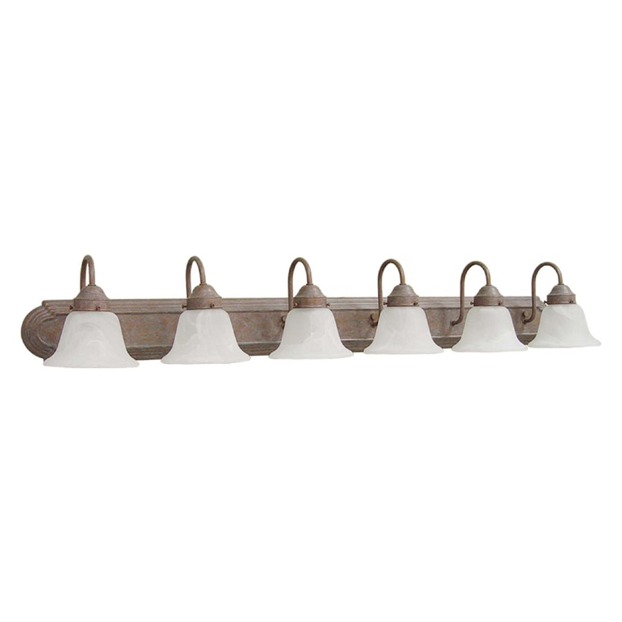 Volume International Minister 6-Light Prairie Rock Vanity Light