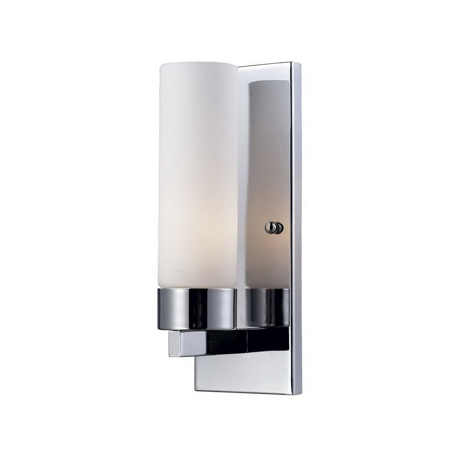Z-Lite Ibis 5-in W 1-Light Chrome Arm Wall Sconce  sc 1 st  Loweu0027s & Shop Z-Lite Ibis 5-in W 1-Light Chrome Arm Wall Sconce at Lowes.com