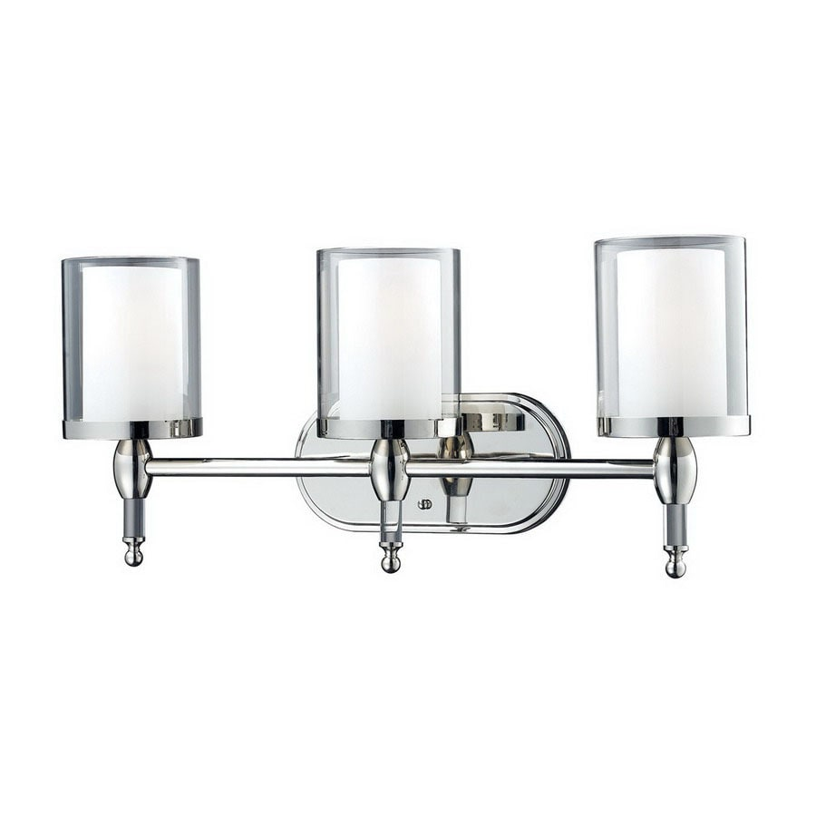 Z-Lite Argenta 3-Light 10.5-in Chrome Cylinder Vanity Light