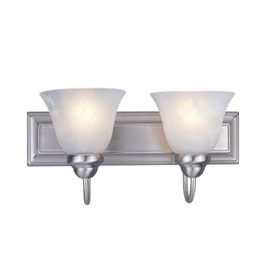 Z-Lite Lexington 2-Light Brushed Nickel Bell Vanity Light