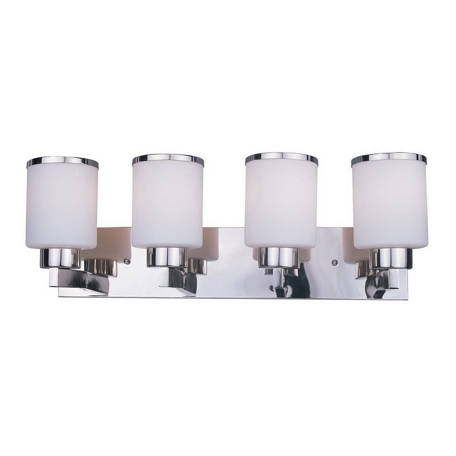 Z-Lite 4-Light Cosmopolitan Chrome Bathroom Vanity Light