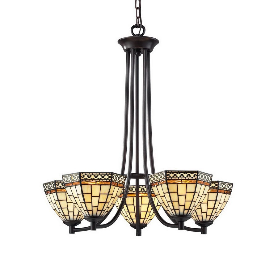 Shop z lite prairie garden 5 light chestnut bronze tiffany style z lite prairie garden 5 light chestnut bronze tiffany style chandelier arubaitofo Image collections