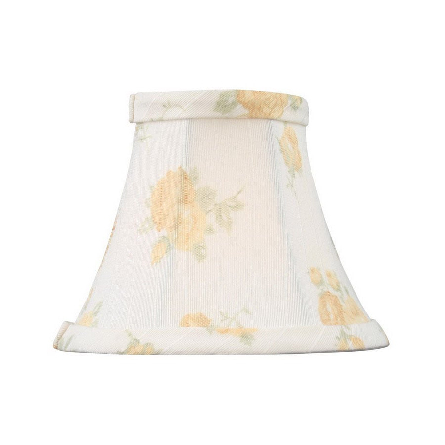Shop livex lighting 4 in x 5 in whitepeach fabric chandelier lamp livex lighting 4 in x 5 in whitepeach fabric chandelier lamp shade aloadofball Image collections