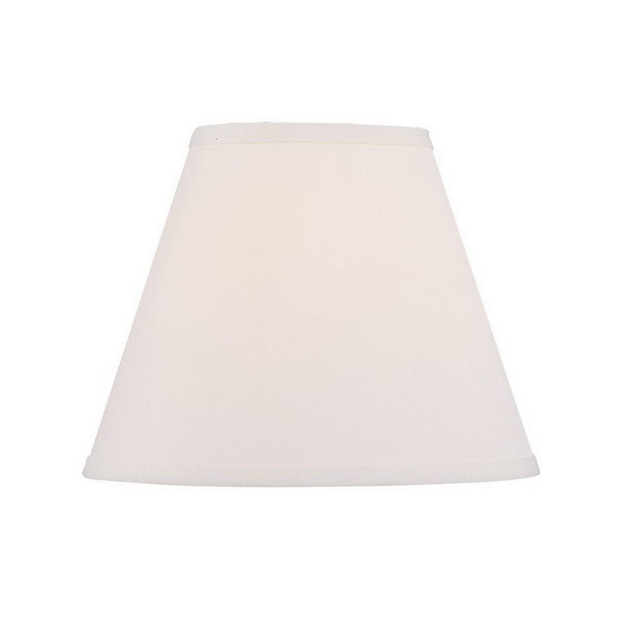 Livex Lighting 9.5-in x 12-in Off White Cone Lamp Shade